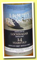 Lochnagar 14 yo 1997/2011 (46%, Liquid Treasures, bourbon hogshead)
